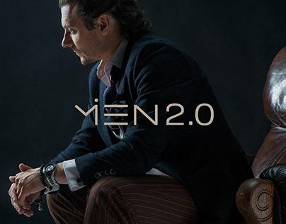 MEN 2.0 Brand Identity
