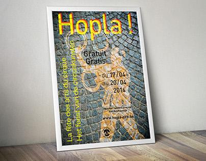 Hopla poster