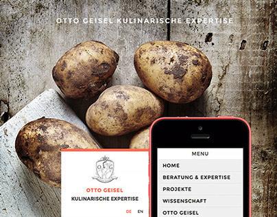 Otto Geisel / Kulinarische Expertise