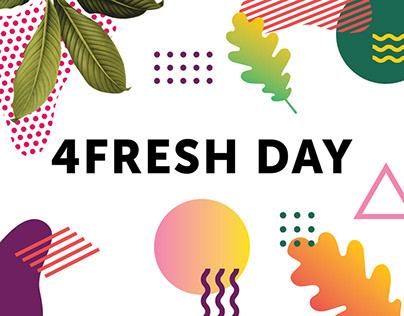 4FRESH DAY 2018 identity