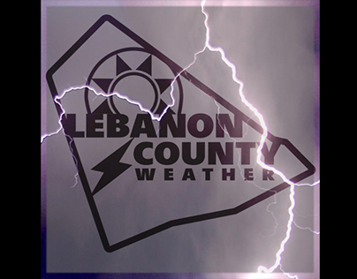 Lebanon County Weather Logo and Banner Design