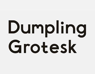 Dumpling Grotesk