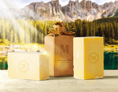 Soap Package Mockup Scene