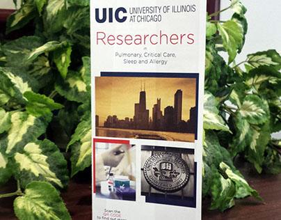 Pulmonary, Critical Care Researchers Brochure