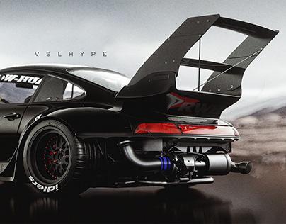 Porsche RWB 993 Evo