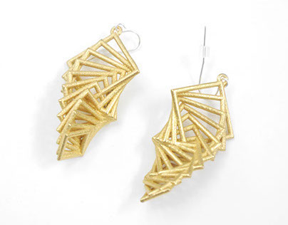 The Arithmetic Collection (3D Printed Jewelry)