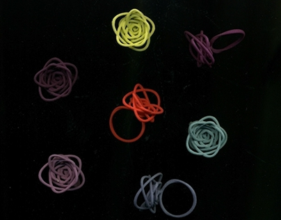The Sprouted Spirals Collection (3D Printed Jewelry)