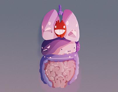Taking Internal Human Organs