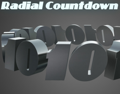 Radial 3D Countdown