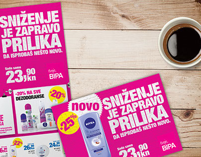 Graphic design-BIPA, Agency work