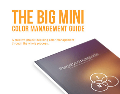 The Big Mini Color Management Guide