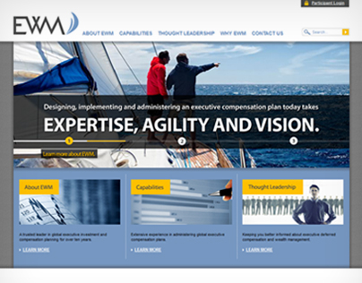 Executive Wealth Management Website