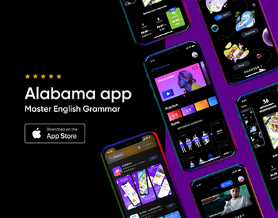 Alabama app. English Grammar Learning