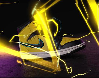 NIKE - Air Jordan project Animation