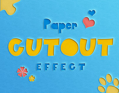 Paper Cut-Our Text Effect