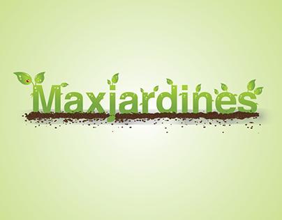 Maxjardines Logo