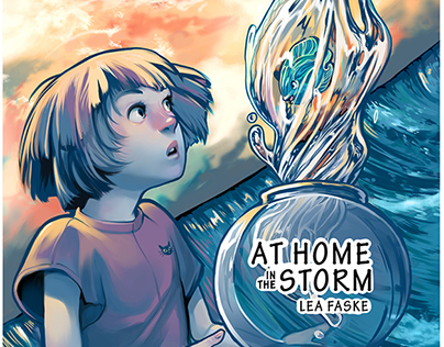 At Home in the Storm (Minicomic)