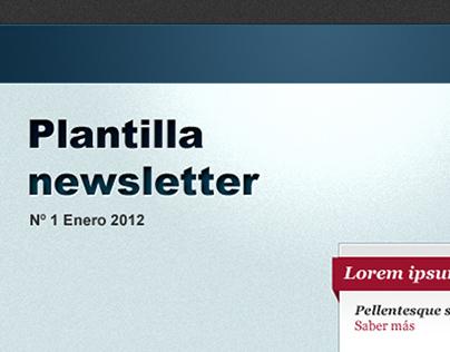 Plantilla newsletter