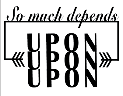 So Much Depends