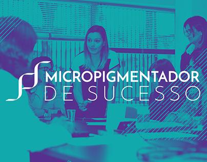 Logo - Micropigmentador de Sucesso