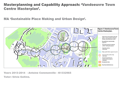 Masterplan Vandoeuvre / Visions & strategic objectives