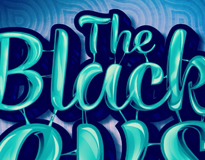 The Black Keys Text Effect