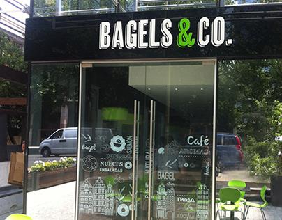 Bagels&Co Illustrations