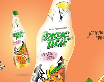 Джус-Тим: Разработка упаковки напитка