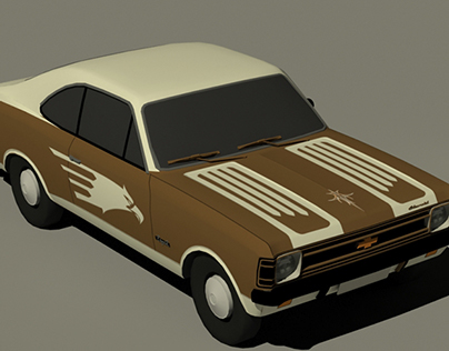 Opala 72 Game ready custom textured - low poly models
