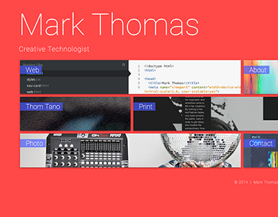 Personal Website: Mark Thomas