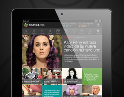 App Noticias - Ipad