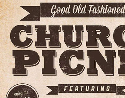 Good Old Fashioned Church Picnic