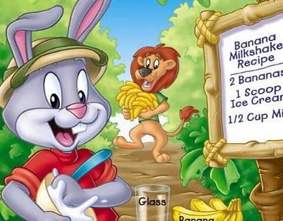 Reader Rabbit workbook cover art