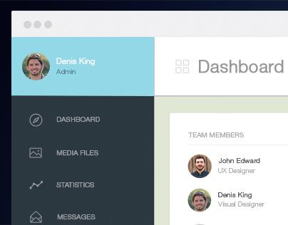 Dashboard UI/ UX Design