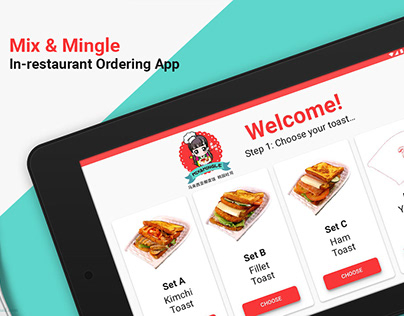 Mix & Mingle In-restaurant Food Ordering App