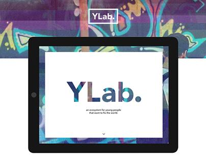 YLab Website - social youth