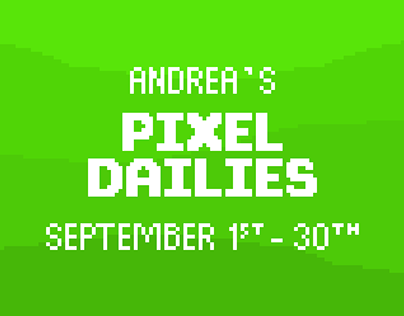 My Pixel Dailies - September 2019