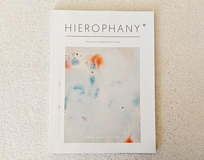 Hierophany* Journal Design