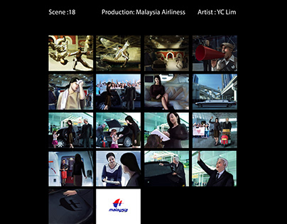 Story board Drawing_malaysia airlines
