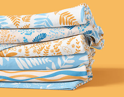 Sweet Summer - Set of 6 Textile Pattern Designs