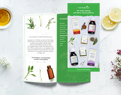 Irish Botanica Leaflet