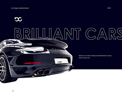 Brilliant Cars web design