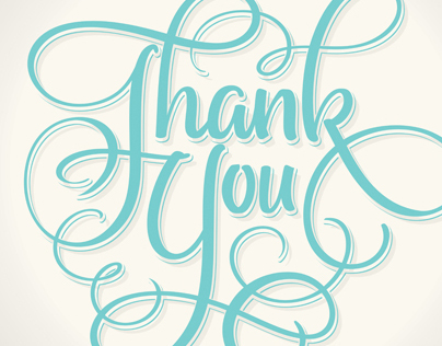 THANK YOU | Hand Lettering