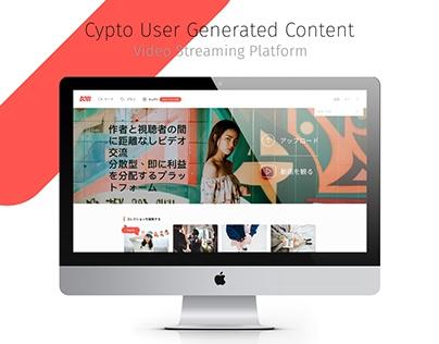 Cypto UGC Video Streaming Website