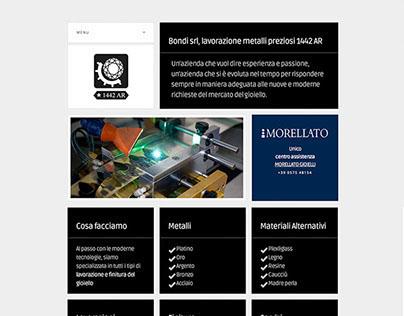 Bondi website and brand