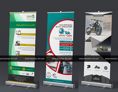 3 Rollup Flex Projects for 3 Different Companies