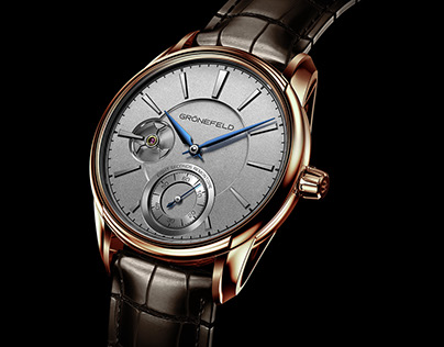 3D Watch Renderings of Grönefeld 1941 Remontoire