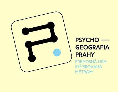 PSYCHOGEOGRAFIA PRAHY_Prenosná hra inšpirovaná metrom