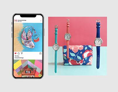 Macy's social media: direction, design, production