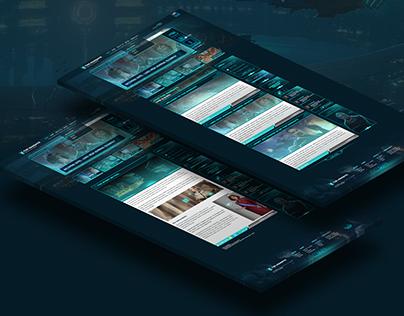The Mandate - Website Design